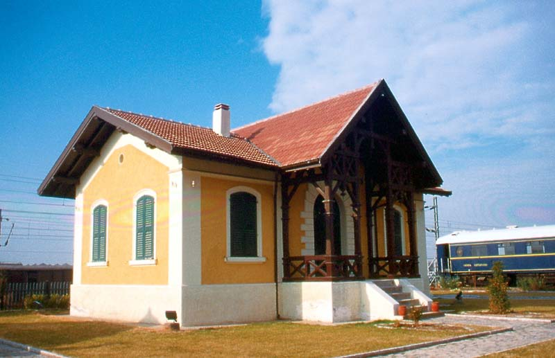 External view of Railway Museum